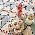 2017 Venda Quente 90*110 cm Adorável Garrafa de Leite Padrão Tapetes de Jogo Multi-Função de Desenvolvimento de Cobertores Tapete Engatinhando tapete Brinquedos Para O Bebê