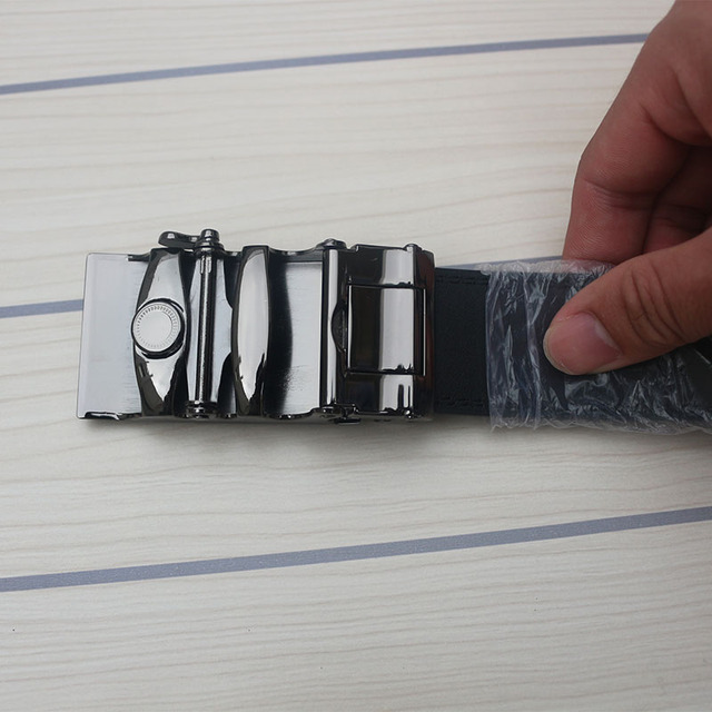 Men's Belt Genuine Leather Wide Belt Designer Automatic Wedding Belts Men High Quality Ceinture Homme Luxe Belts For Jeans Kemer