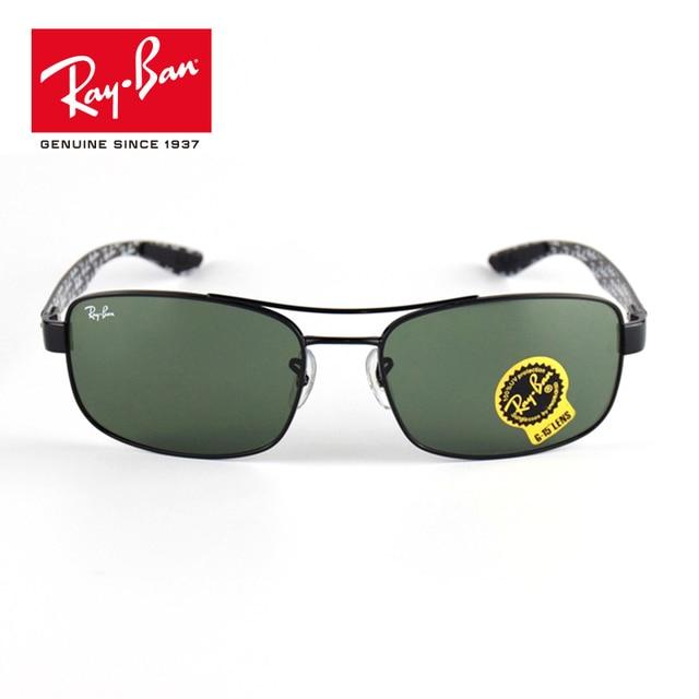 f22212be0e0de RAYBAN Original Polarized Oval Sunglasses Men s Driving Shades Male classic  prescription Sun glasses RB8316-002. 1 order