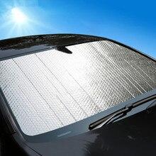Универсальный автомобильный оконный солнцезащитный козырек лобовое стекло Передняя Задняя Автомобильная Солнцезащитная шторка Аксессуары Анти снег лед УФ Защита