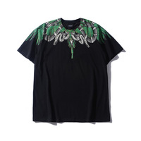 New Parkour Coutry of milan Marcelo Burlon T Shirts Snake wings python T Shirt Hip Hop Skateboard T Shirts Tee Top #L114