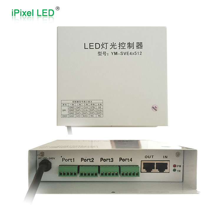 DMX512 Sub-control LED controller for led strip, led pixel, led modules