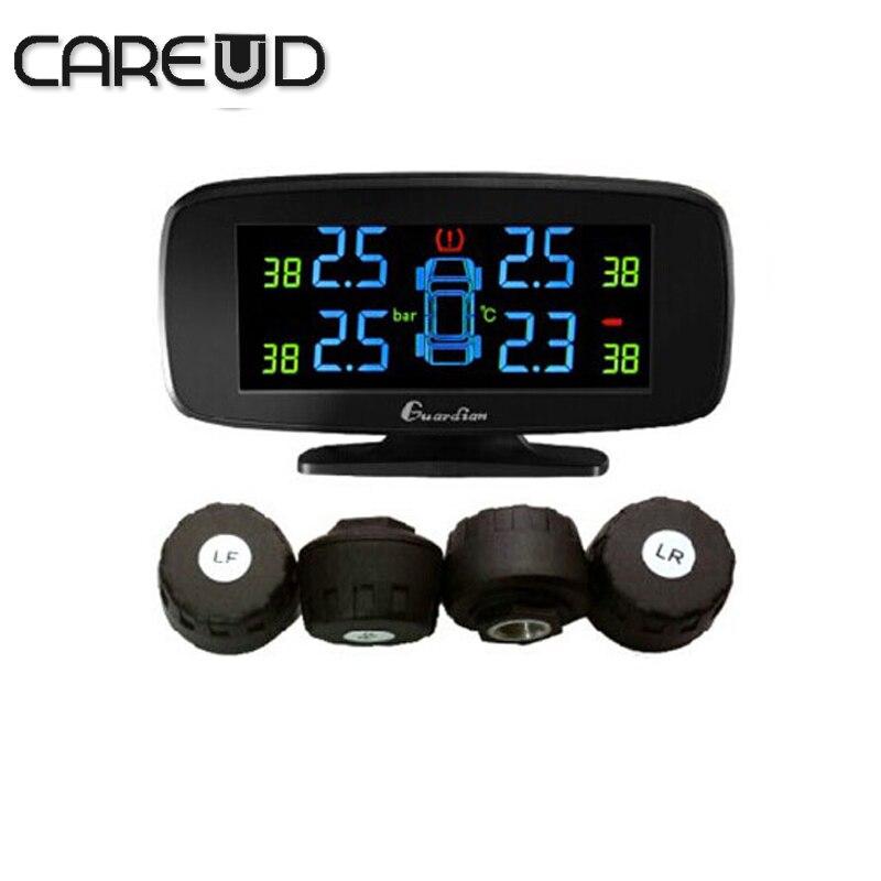 Цена за Careud U903 4 внешних датчиков мин датчик контроля давления в шинах системы автомобиля TPMS, PSI/БАР tpms careud диагностический инструмент