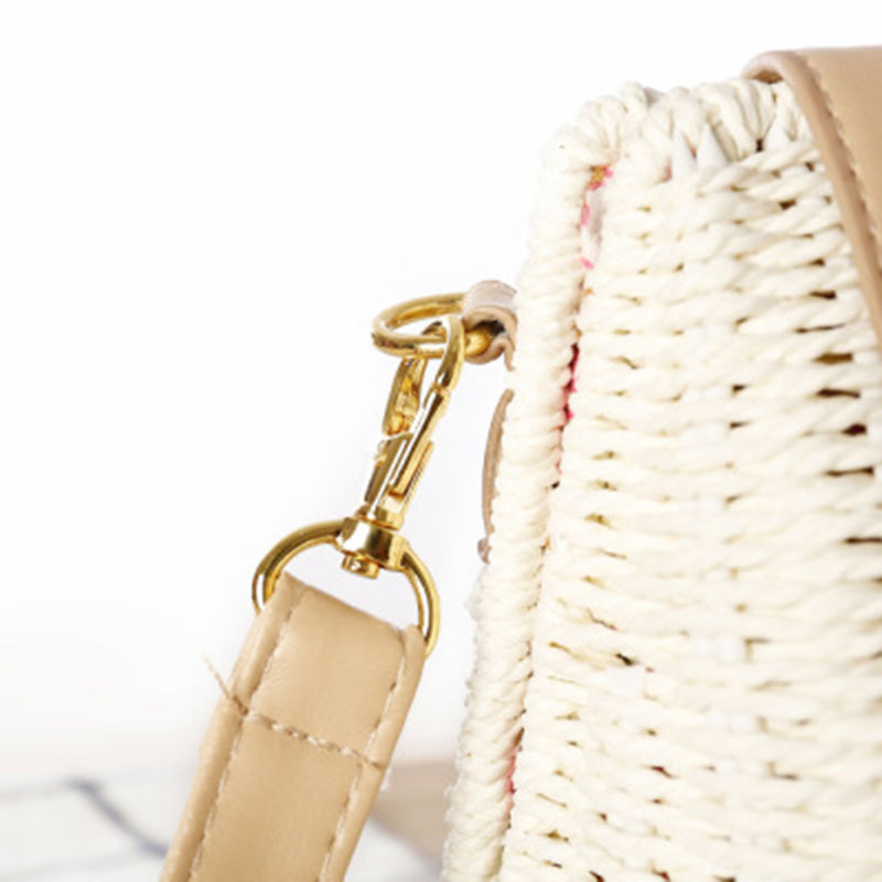 New Women Tassel Straw Bags Bohemian Female Vintage Rattan Knitted Handbag Summer Beach Lady Casual Weave Shoulder Bag SS3161 (9)
