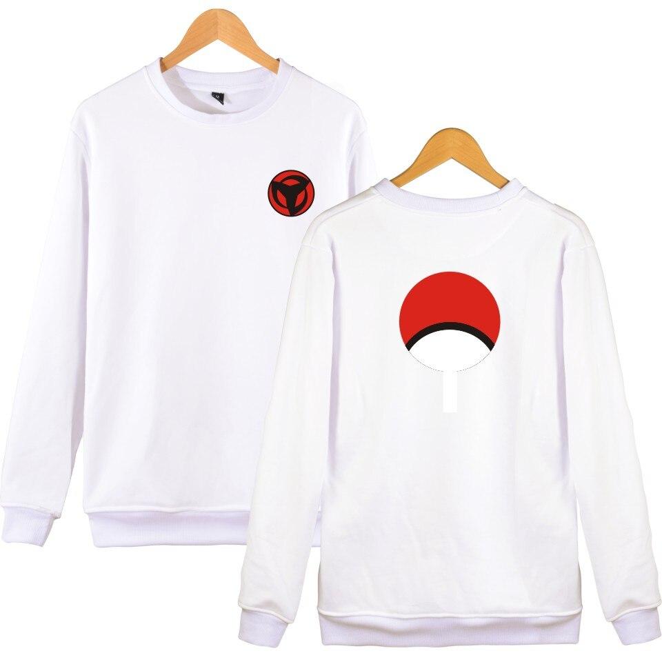 Naruto classique Anime Capless Hoodies et Sweatshirts pour les Couples mode veste à capuche d'hiver femmes Kpop Uchiha Syaringan vêtements amusants