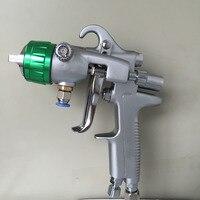 SAT1189 المهنية الطلاء بندقية المزدوج رئيس الطاقة ارتفاع ضغط سيارة الطلاء بندقية مزدوجة فوهة غطاء المقاوم للصدأ فوهة بندقية الهواء