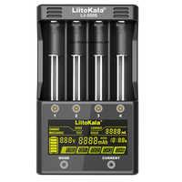 LiitoKala Lii 500S 18650 ładowarka baterii sterowanie dotykowe sprawdź pojemność baterii dla 18650 26650 21700 baterie AA AAA