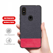 PHOPEER Case for Xiaomi Mi Mix 2S soft silicone edge fashion fabric shockproof back cover case xiaomi mi mix 2s