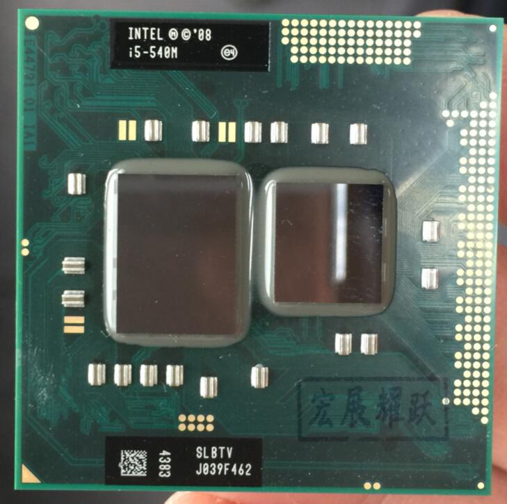 Intel Core i5-540M Processor i5 540M notebook Laptop CPU PGA 988 cpu(China)