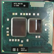 Processador intel core i5 540M i5 540m portátil portátil portátil cpu pga 988 cpu