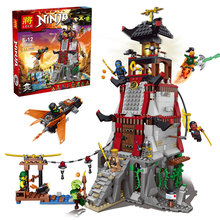 LELE 79346 Ninjagoes Lighthouse Siege Phantom Ninja Bricks Building Block Minifigure Compatible with Legoe