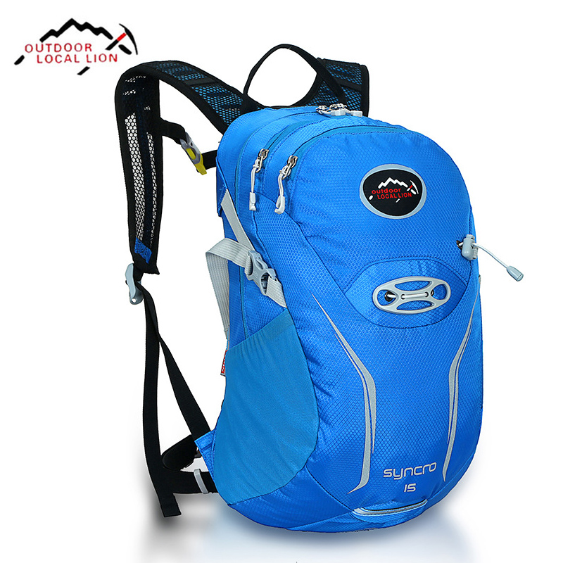 High Quality Outdoor Local Lion New Travel Back pack Hiking Bag backpacking packs Camping Climb Backpacks 15L Rucksack Packsack