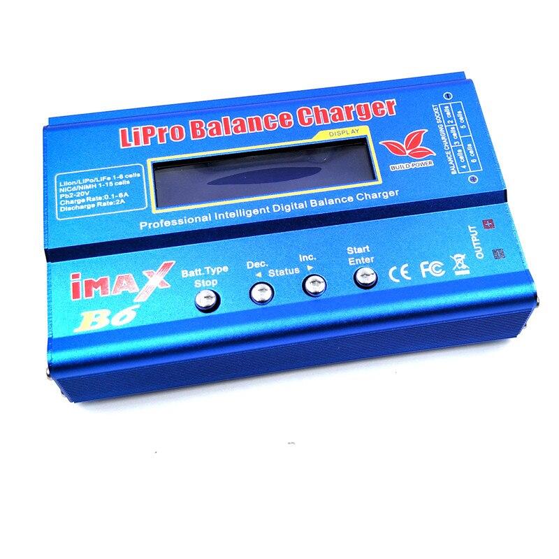 BUILD-POWER IMAX B6 RC Lipo NiMh Battery Digital Balance Charger with Tamiya Connector Calbe