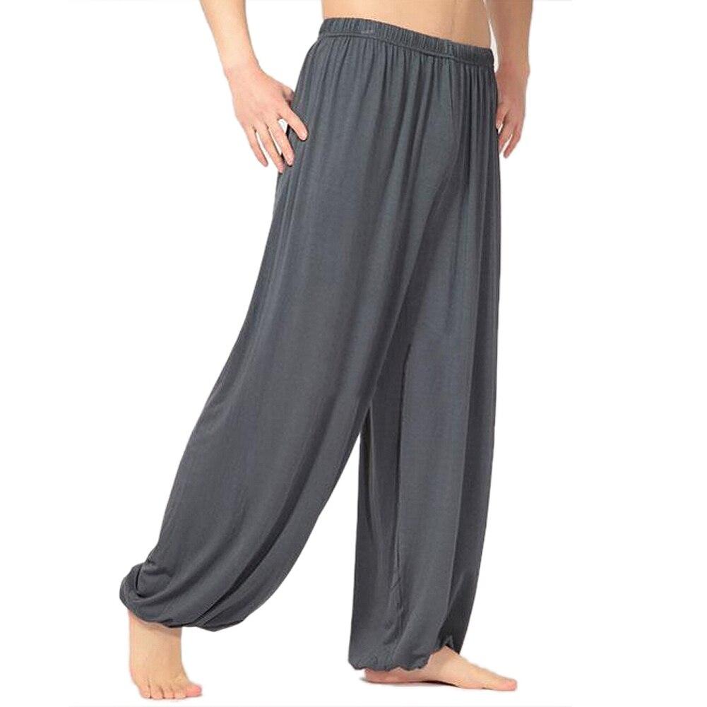 yoga pants Loose Modal bloomers tai chi men women, 8 Colors Size L-XXXL modal analysis