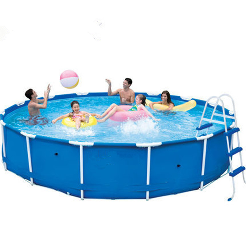 Wnnideo easy set above ground inflatable swimming pool in for Inflatable above ground pools
