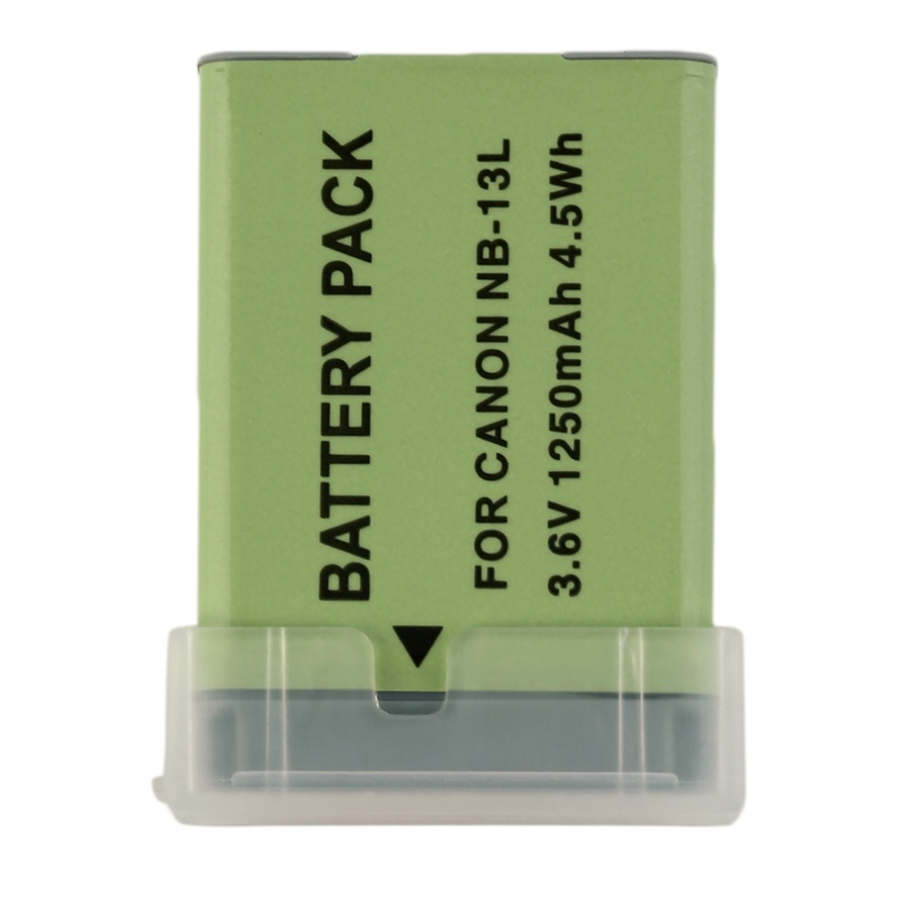 Rechargeable New Camera Camcorders Battery For CANON NB-13L Powershot G7X 3.6V 1250mah Camera Camcorders Replacement Accessories ismart replacement nb 5l 3 7v 1200mah battery for canon powershot sx230hs sx210is more page 1