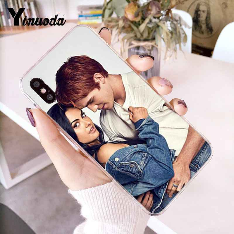 Yinuoda Archie Betty Jughead Jones Veronica Riverdale Painted Phone Case for iPhone 8 7 6 6S Plus X XS MAX 5 5S SE XR 10 Cases