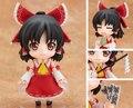 Touhou Project Хакурей Reimu Фигурку Nendoroid ПВХ Рисунок 100 мм Nendoroid 74 # Аниме Touhou Project Модель Игрушки Куклы
