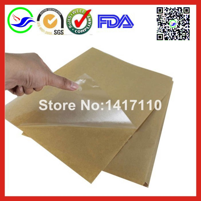 100 sheets self adhesive a4 blank transpa clear pvc label