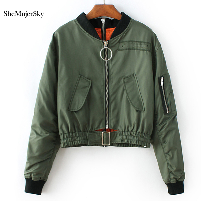 Chaqueta Cremallera Shemujersky Doble Bombardero Lateral Mujeres qwUxU0