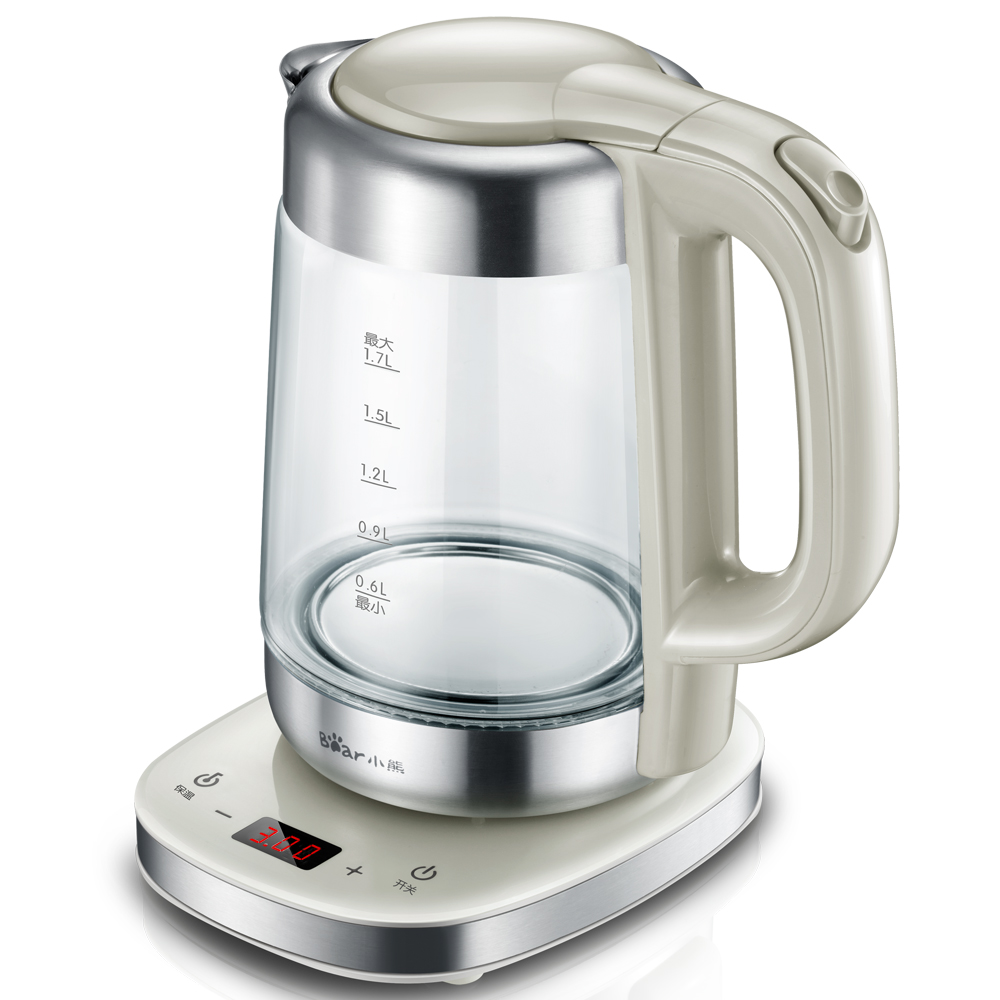 Electric Kettle Water Heater Kettle Filter 1.7L Automatic Temperature Control Teapot Boiler Office Household ZDH-A17J1