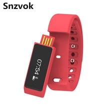Snzvok i5 плюс смарт браслет спорт bluetooth 4.0 водонепроницаемый сенсорный экран фитнес-трекер здоровья сна монитора smart watch