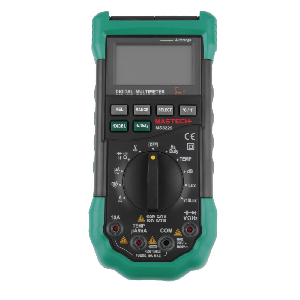 Handheld Multimeter Tester Electrical 4000 Digit LCD Display Backlight New hot ut118b mini multimeter excellent pen measuring electrical induction genuine universal backlight