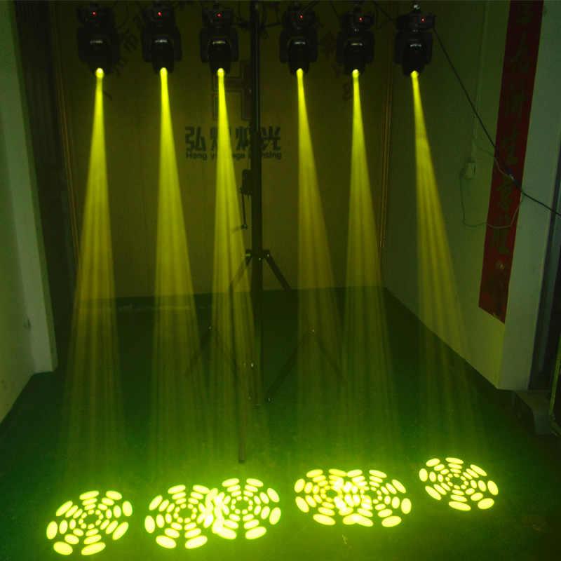 Lampu LED Moving Head Gobo 60 W Mini Musik Suara Lampu Panggung Pesta Natal Lumiere Laser Acara Disco DJ DMX Tahap pencahayaan