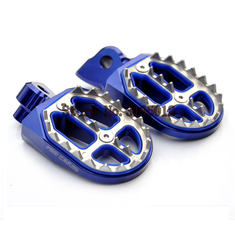 Foot Rest Footrest Footpegs Foot Pegs Pedals For Yamaha Yz 125 250 Yz125 Yz85 Yz450f Wr450f Wr250f Dirt Bike Motorcycle Parts