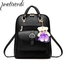 Bolsa feminina известный бренд Роскошный дизайнерский Женский Малый Vintage рюкзаки для девочек-подростков Высокое качество искусственная кожа дорожные сумки