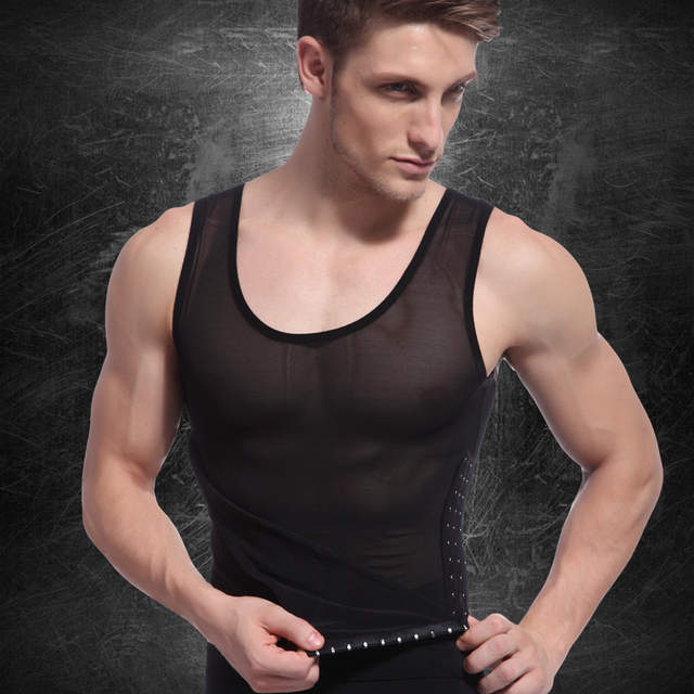 1e20f92f015 Online Shop Hot Selling Men s Sexy Slimming Body Shaper Belly Fatty Thermal  Underwear Vest Shirt Corset Compression Best Gift for Men