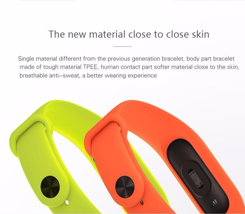 Original Xiaomi Mi Band 2 Fitness Smart Bracelet,Heart Rate Pulse Monitor,Pedometer,Activity Tracker,Bluetooth Smart Wristband 7
