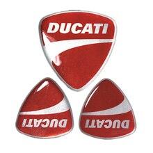 Capacete da Motocicleta etiqueta do carro do carro de alta qualidade 3d 3 m adesivo Reflexivo etiqueta fit para a ducati