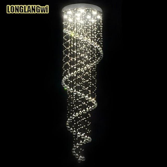 Livraison gratuite temps limité vente chaude nouveau moderne led k9 lustres en cristal lampe en cristal