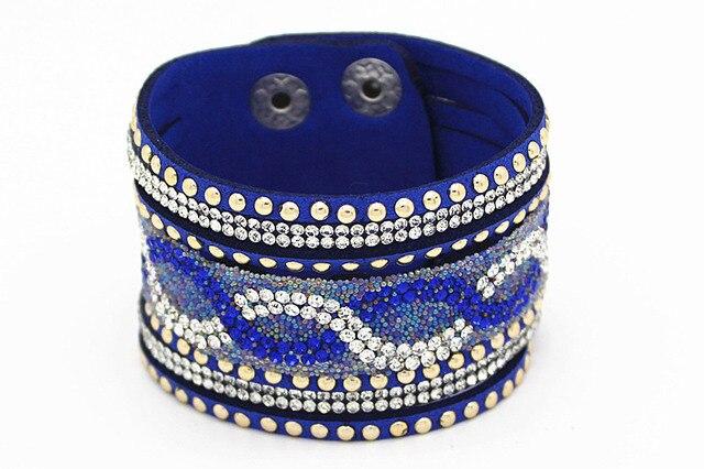 Wide Bracelet Femme Resin...