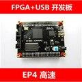 Frete grátis Y7c68013 EP4CE10 Altera FPGA Cyclone + placa de desenvolvimento USB de alta velocidade USB2.0