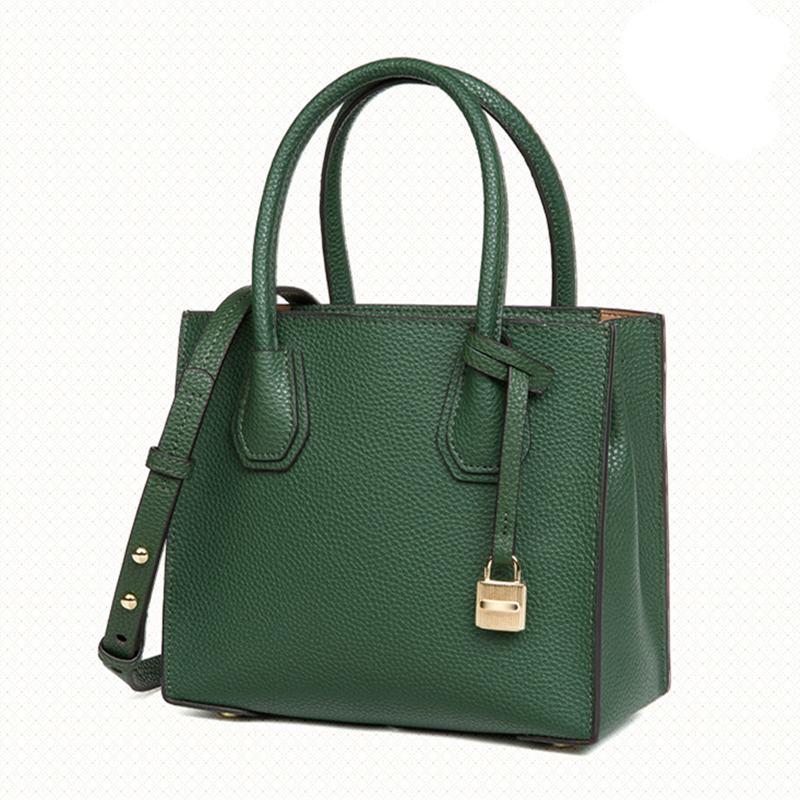 Bags for women 2018 Handbags New Totes The first layer Cowhide Leather handbags Locks Bags Shoulder Messenger Bag new women s bag fashion genuine leather handbags shoulder bags first layer cowhide bags korean casual women messenger bags
