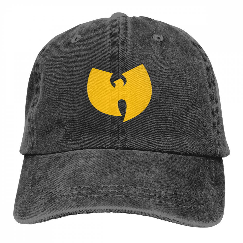 Unisex Adult Casquette Wutang 3D Creative Personality Washed
