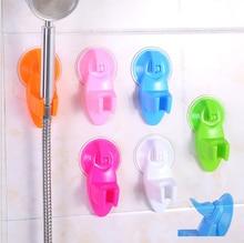 Vacuum suction cup adjustable shower head bracket detachable reusable hand wall mount