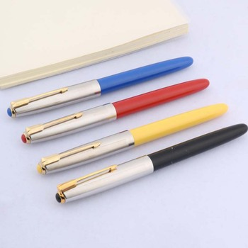 1pc 616 new color plastic popular F nib classic fountain pen