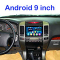 1024*600 9'' Quad Core Android  Car DVD Player for Toyota Prado 120 Land Cruiser 120 2002-2009 With Bluetooth 3G Wifi