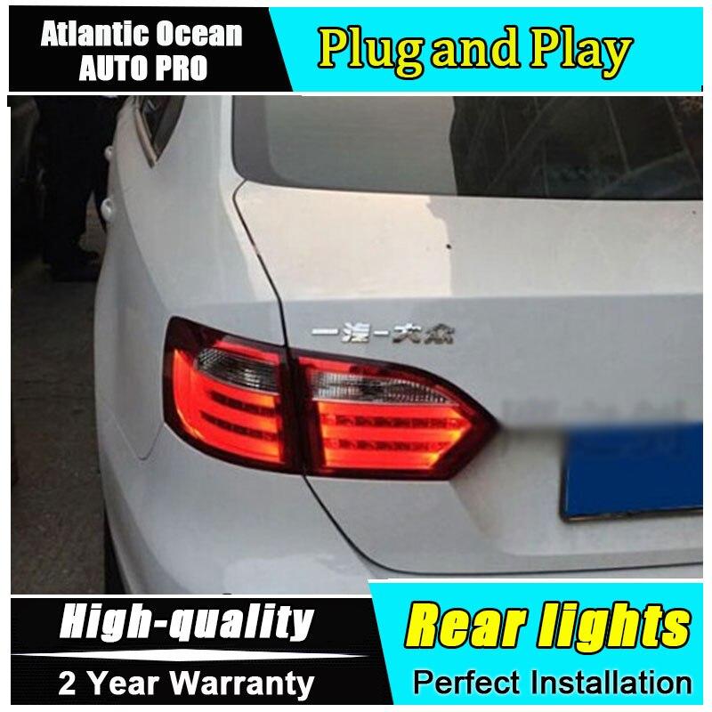 JGRT 2011 2012 2013 2014 для Фольксваген Джетта светодиодные задние фонари для VW Джетта МК6 светодиодные задние огни автомобиля стайлинг автомобиля Сид противотуманные фары