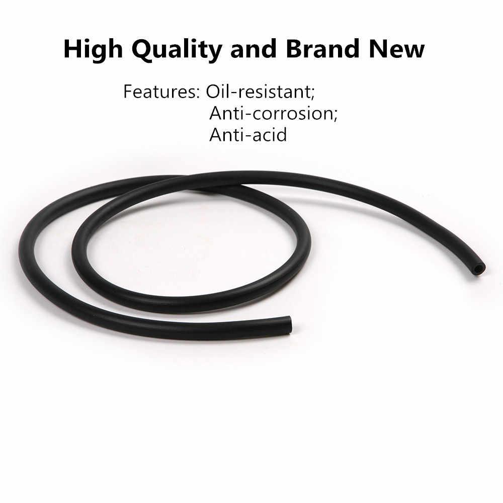 90 см-100 см топливный шланг черного цвета для мотоцикла топливный газовый шланг для доставки масла бензиновая труба 5 мм I/D 9 мм O/D бензиновая трубка Топливопровод