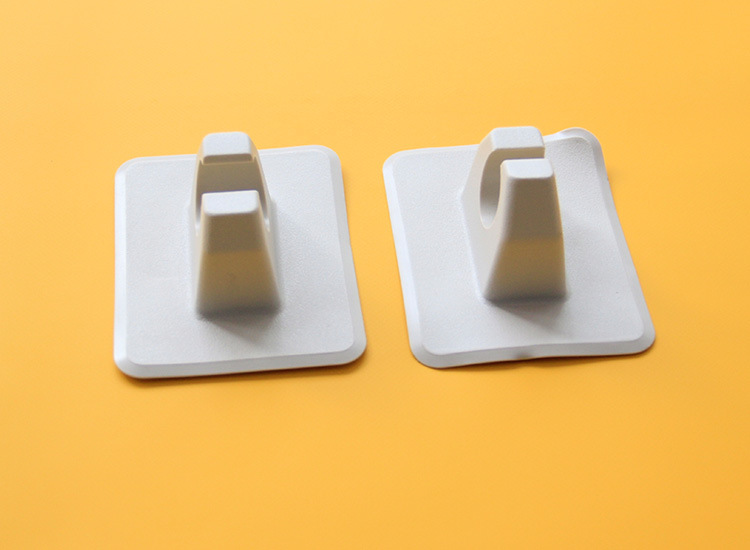 2pcs Dinghy Accessories Oar Holder Patch for Canoe Inflatable Boat Dinghy Raft Gray/ Black