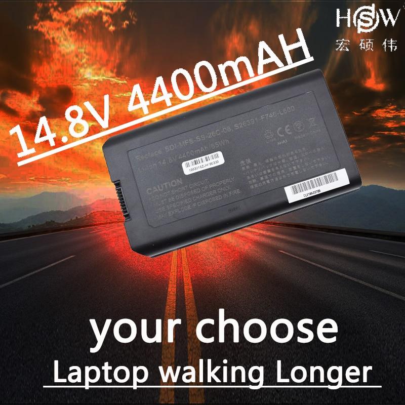 HSW LAPTOP BATTERY for Fujitsu ESPRIMO Mobile D9510 X9510 Laptop Battery X9515 X9525 for Fujitsu Celsius