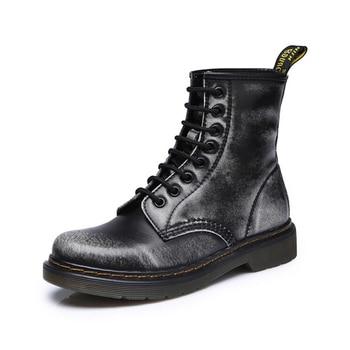Dr martens женские scarpe donna dr Ботинки martin botines mujer 2018 ботильоны женские doc martins ботинки на меху
