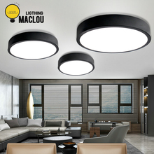 LED Lamp Ceiling Light Modern Lighting Fixtures Living Room Ultra Thin Remote Control Kitchen
