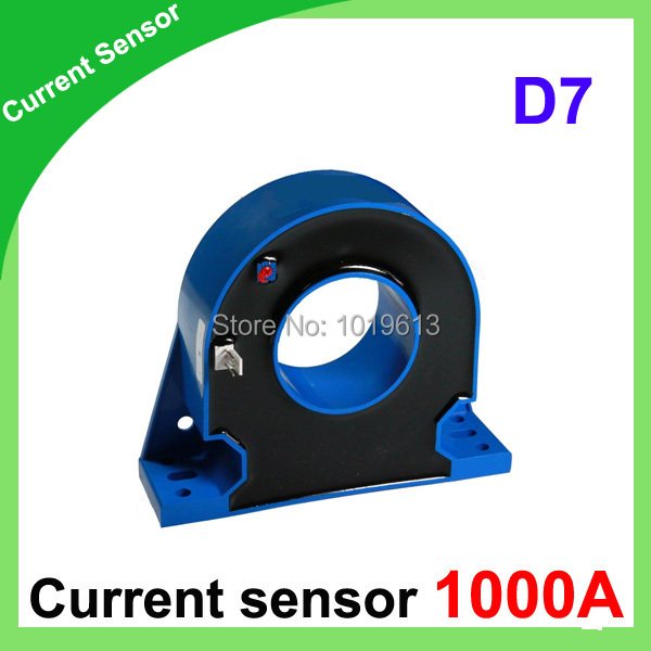 D7 Series closed loop current transducer 1000A hall effect current transducer d8 hall effect high current transducer 1000a dc current transducer