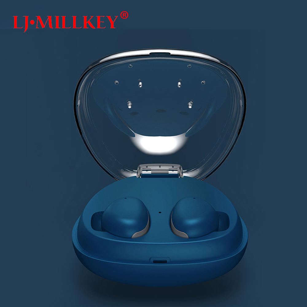 TWS Bluetooth Earphone with Mic True Wireless Earbuds Fone Bluetooth V4.2 Truing Headsets for Smart Phone LJ-MILLKEY YZ131 high quality laptops bluetooth earphone for acer aspire e5 573g 7049 notebooks wireless earbuds headsets with mic