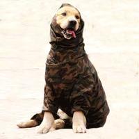 Cão capa de chuva para grande cão husky samoyed cães grandes 6 tamanhos à prova dwaterproof água masculino & feminino casaco de chuva roupas trajes macacão 2019|Capas de chuva para cães| |  -